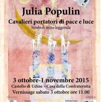 Locandina Julia Populin x Confraternita Udine bassa definizione